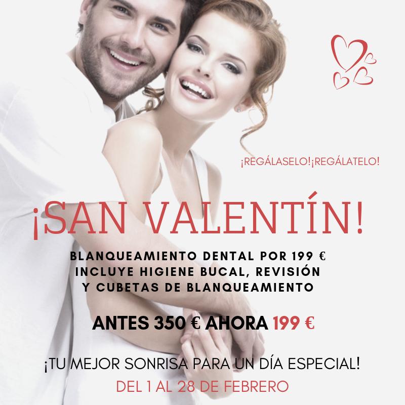 Clinica Exclusiva Invisalign Doctora Mariana Sacoto Navia San Valentín blanqueamiento dental promoción