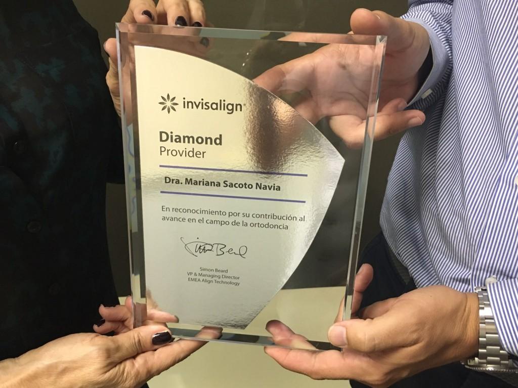 Clinica de Ortodoncia Doctora Mariana Sacoto Navia Invisalign Diamond Provider