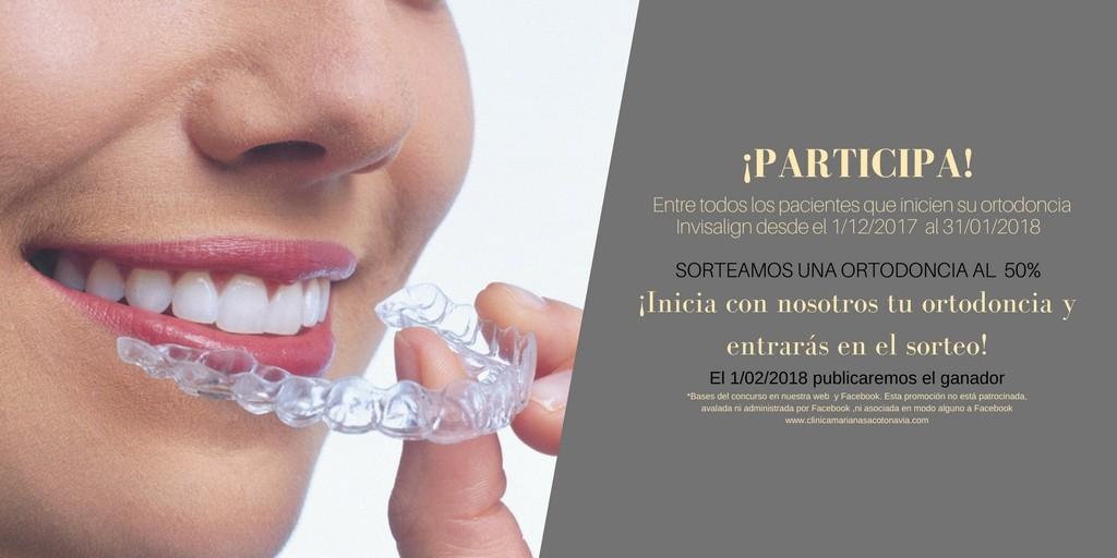 Sorteo 50% consigue tu ortodoncia al 50% de descuento