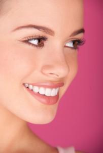 perfect teeth smiling