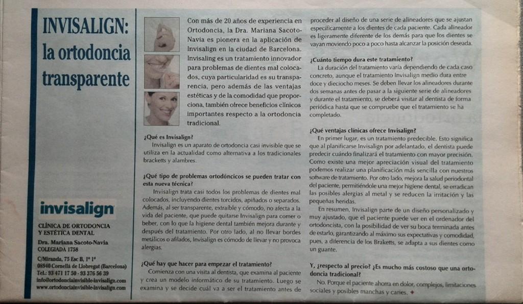 publicacion año 2008 diario Clínica Mariana Sacoto Navia