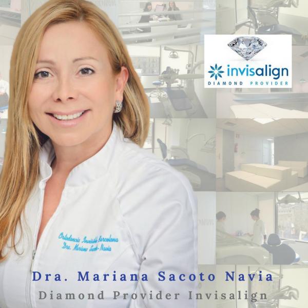 Clinica Exclusiva de Invisalign Barcelona Cornella Terrassa Doctora Mariana Sacoto Navia