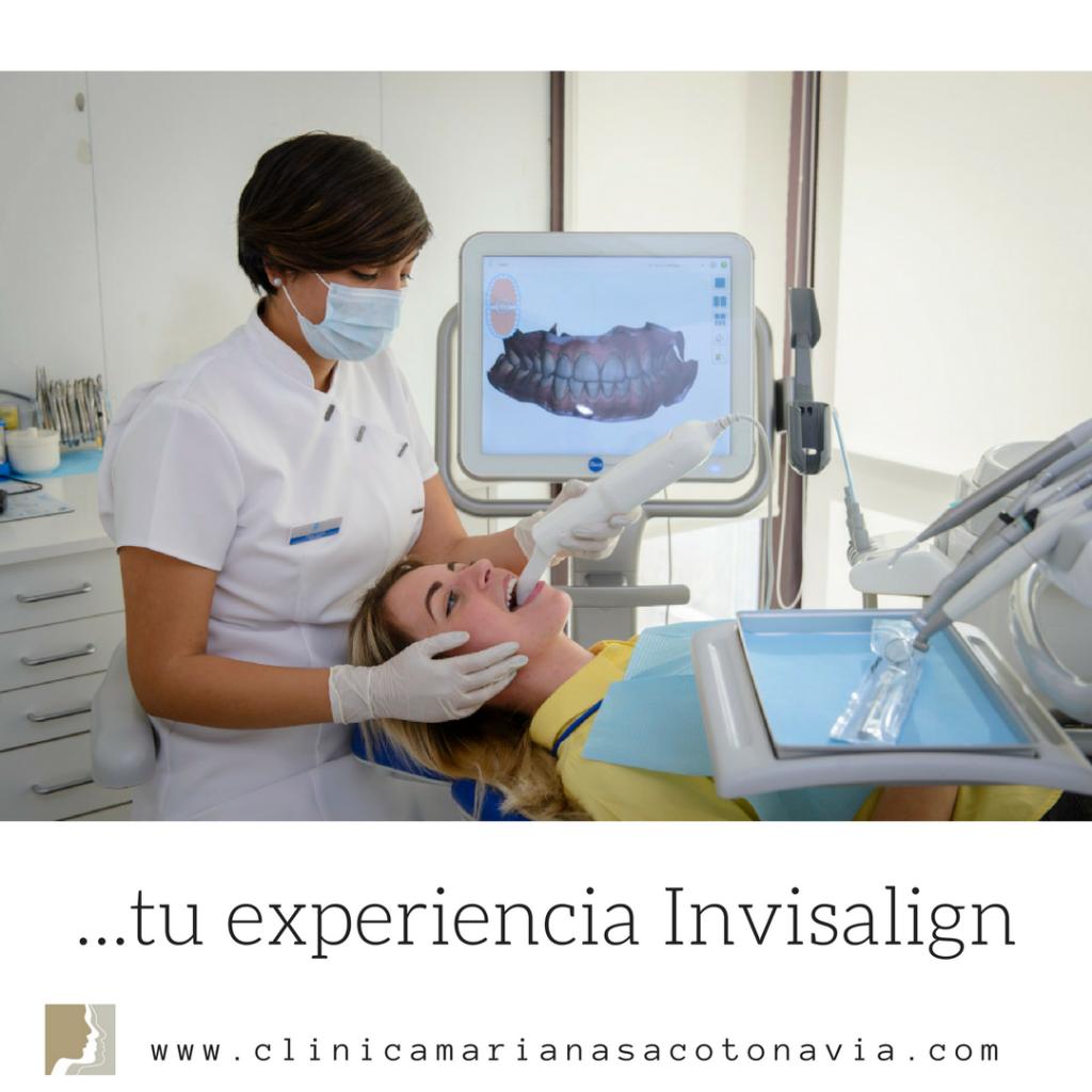 Clinica de Invisalign Doctora Mariana Sacoto Navis, expertos en Ortodoncia Invisalign escaner Itero digital