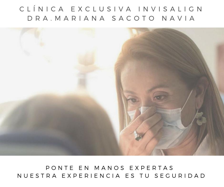 Clinica Exclusiva Invisalign Doctora Mariana Sacoto Navia Expertos Invisalign Barcelona